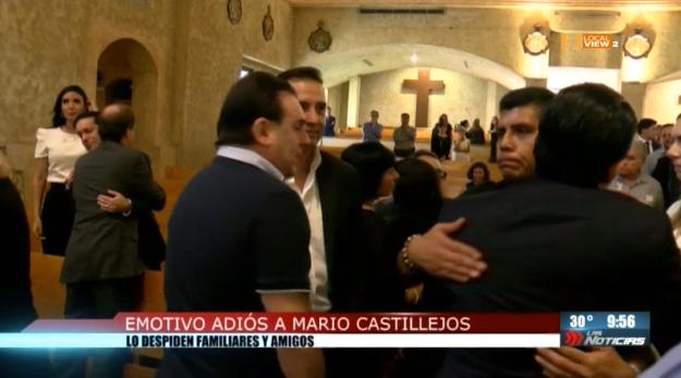 Emotiva despedida a Mario Castillejos