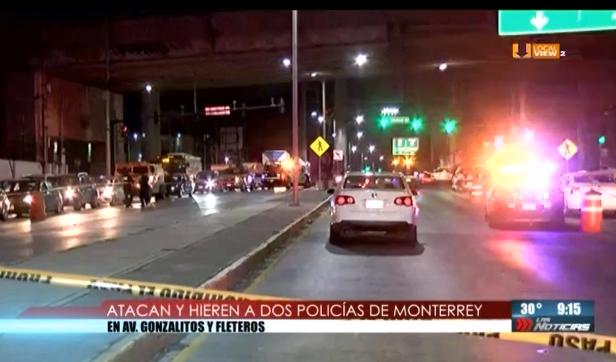 Agitada tarde de viernes en Monterrey. Balacera y persecución