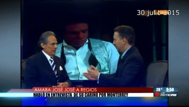José José siempre le tuvo un cariño especial a Monterrey. Aquí lo recordamos