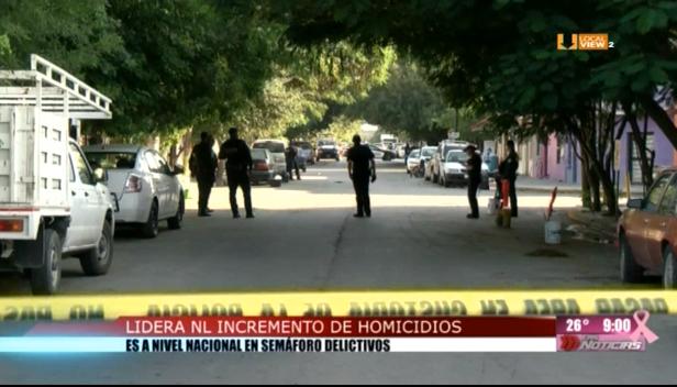 Nuevo León se perfila como uno de los estados más violentos del país en 2019