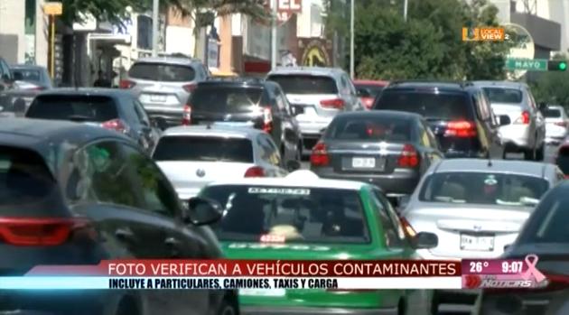 Inician cacería de vehículos contaminantes. Aplicarán foto-multas