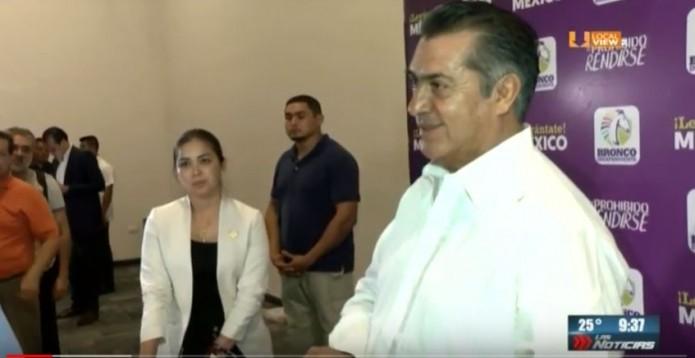 ¿Y en qué va la sanción contra el gobernador de Nuevo León?
