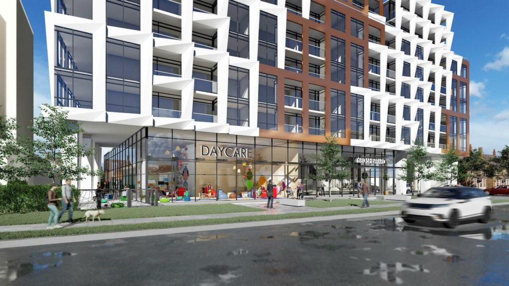 Sheppard West Daycare Rendering