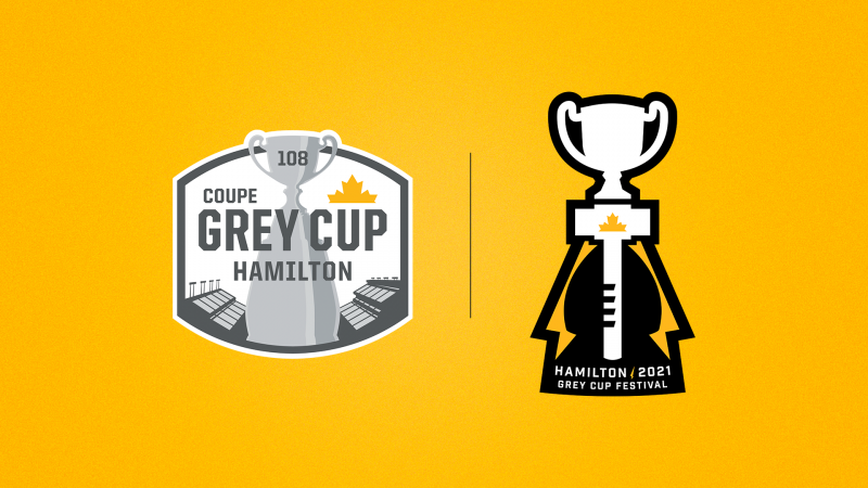 Ticats unveil 108th Grey Cup & 2021 Grey Cup Festival brands