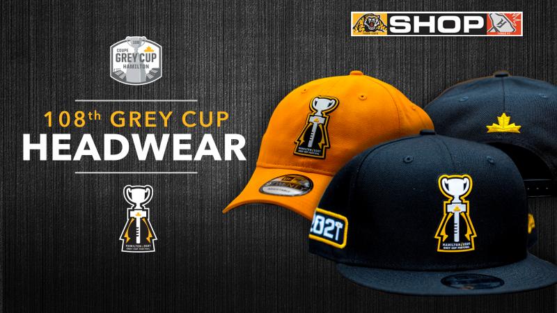 New Arrivals: 108th Grey Cup Headwear