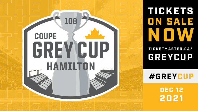 108th Grey Cup Tickets On Sale Now