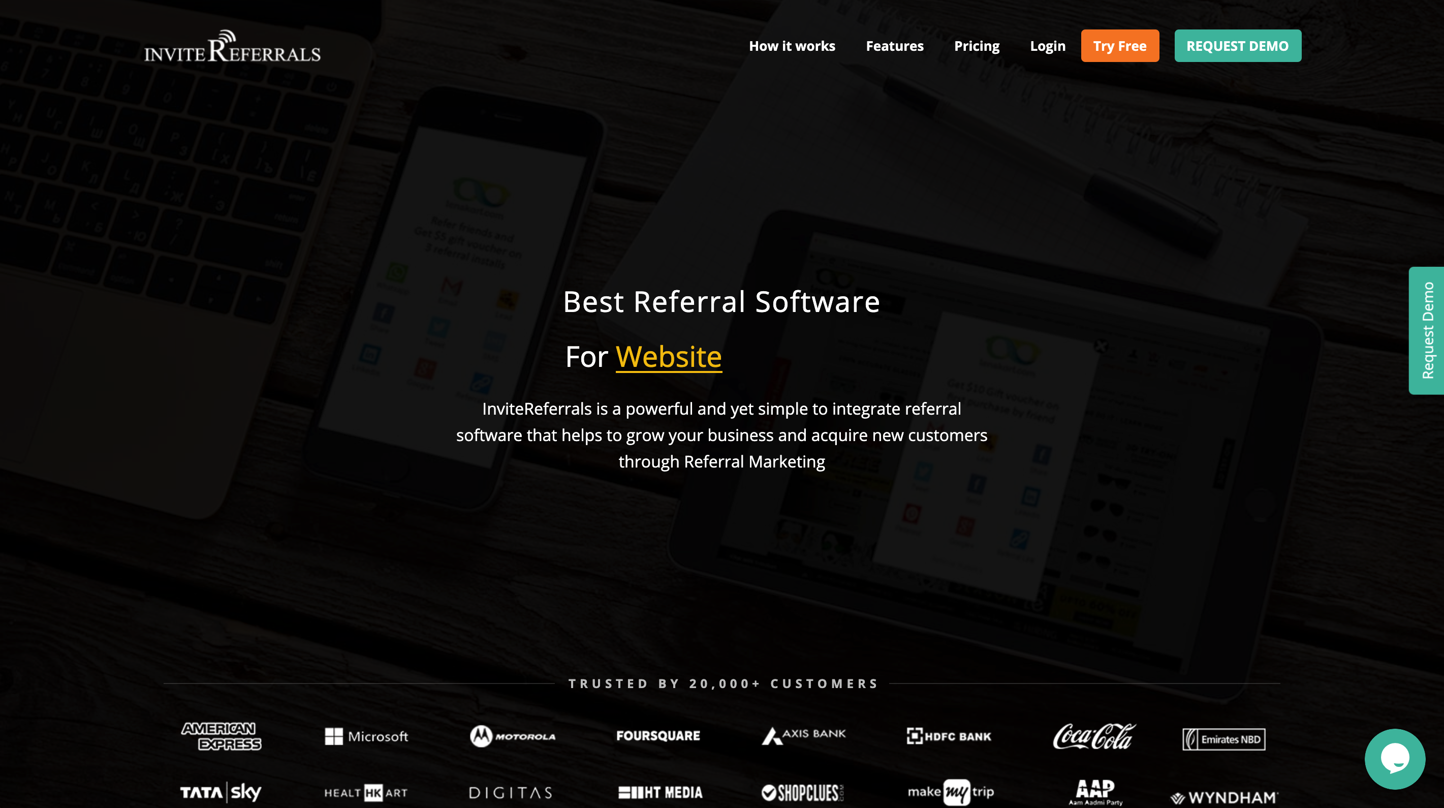 GrowSurf referral marketing software