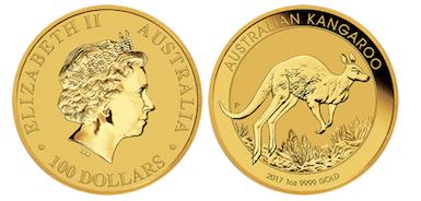 Australian Kangaroo Gold Coin