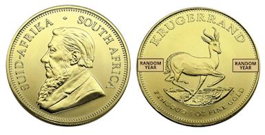 African Krugerrand Gold Coin