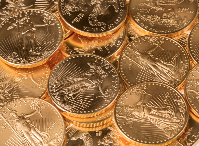 Numismatic coins are a more speculative investment than bullion coins because their value is derived from other factors besides the value of gold.