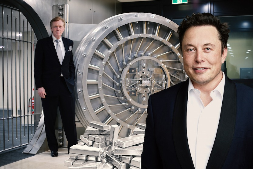 Dear Elon Musk, Buy Physical Gold and Silver Now, not Paper ETFs