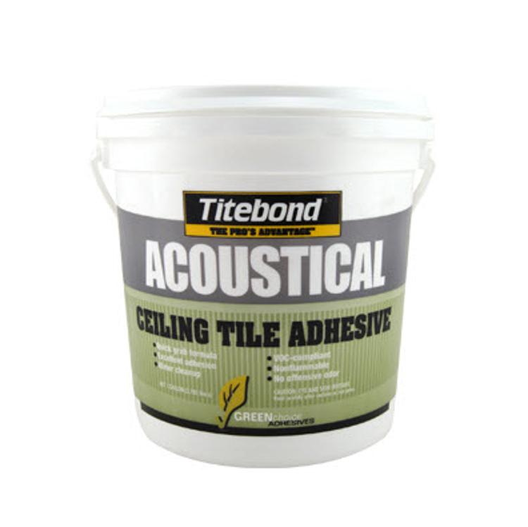 Titebond Greenchoice Acoustical Ceiling Tile Adhesive 1 Gallon At