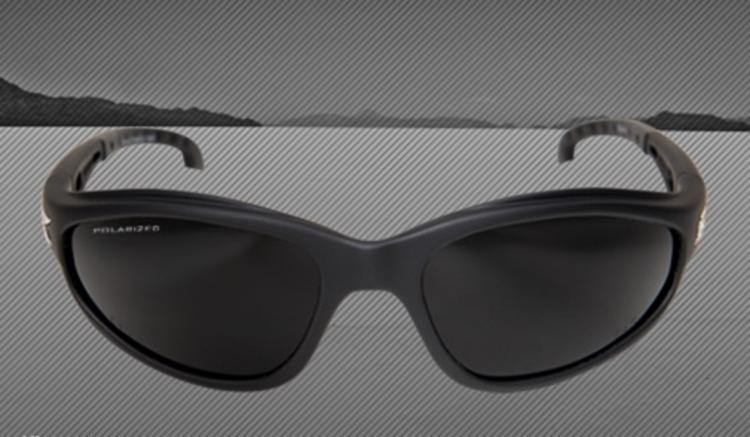 e6ab77cf16 Edge Eyewear Dakura Safety Glasses - Black Frame Polarized Smoke Lens