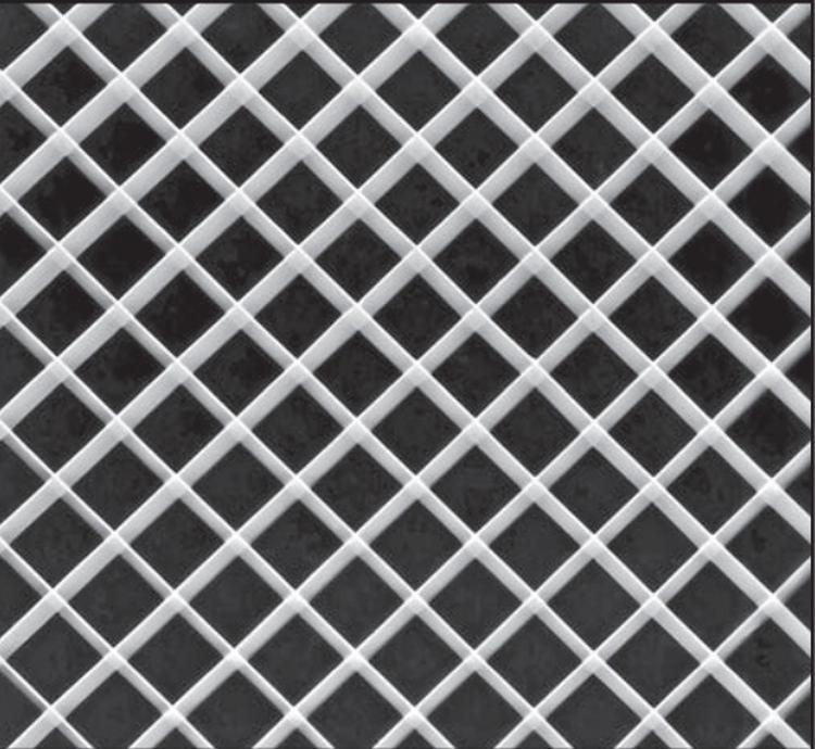 1 2 in x 24 in x 48 in slp thincell aluminum eggcrate louver panel