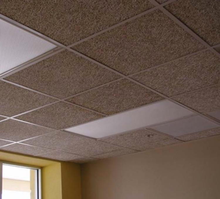 1 1/2 in x 23 3/4 in x 47 3/4 in tectum square edge lay-in ceiling