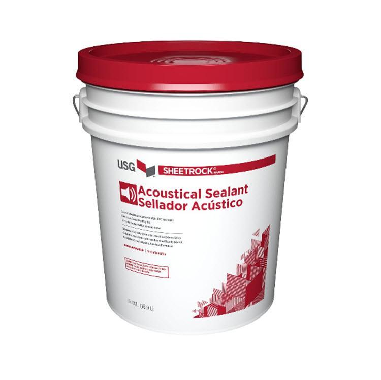 Usg Sheetrock Brand Acoustical Sealant 5 Gallon Pail At
