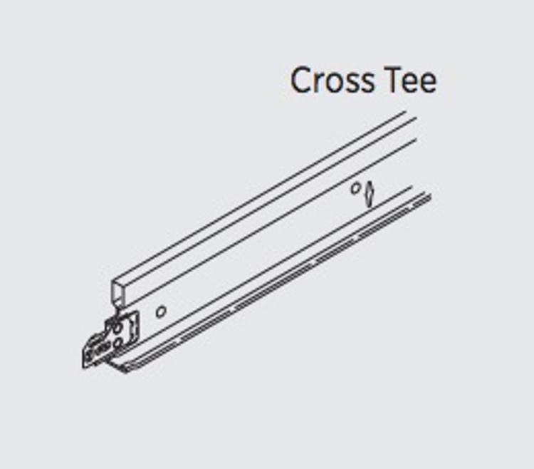 15  16 in x 4 ft usg donn brand dx  dxl cross tee at gts
