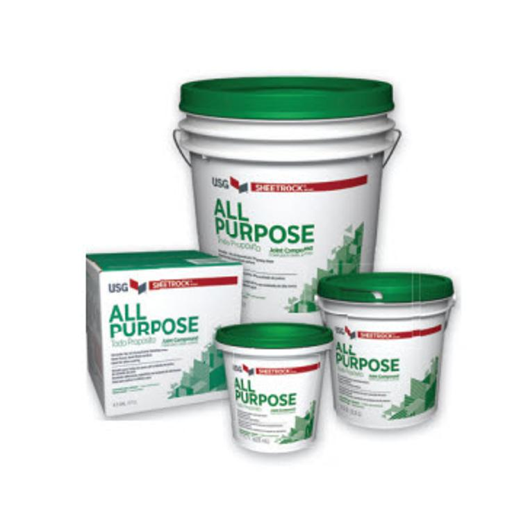 Usg sheetrock all purpose joint compound 3 5 gallon box for Gold bond joint compound