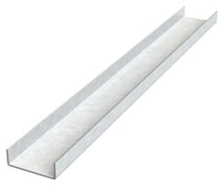 1 1 2 In X 20 Ft X 16 Gauge Steel Cold Rolled Channel At
