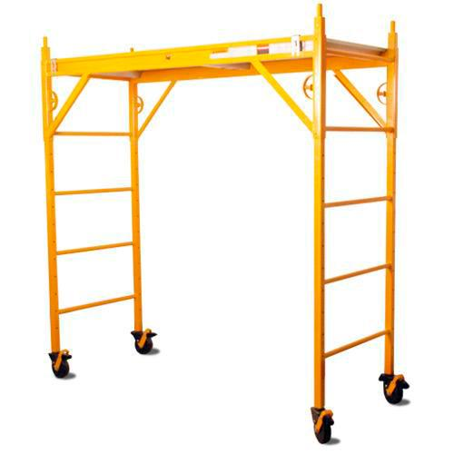 6 ft Nu-Wave Scaffold 660 Classic w/ PC5B-S Casters