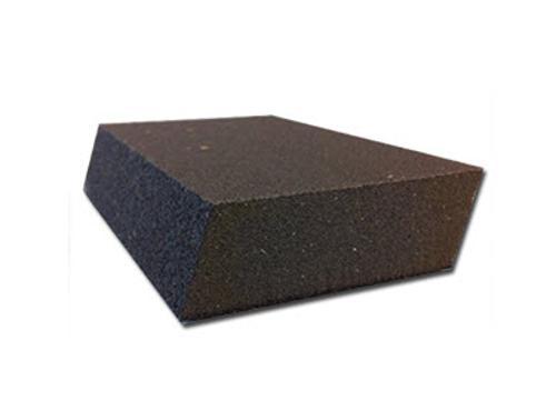 4 7/8 in x 2 7/8 in x 1 in Norton WallSand Dual Angle Sanding Sponge - Fine/Medium