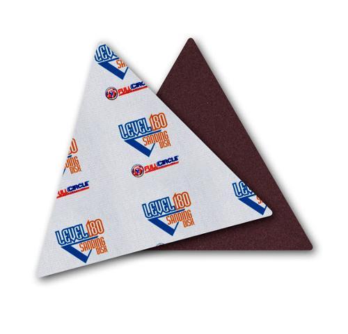 Full Circle Level180 Sandpaper Triangles - 150 Grit