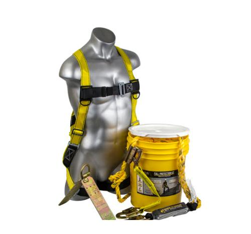 5 Gallon Guardian Fall Protection Bucket of Safe-Tie - S/L