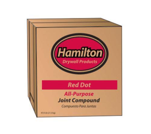 Hamilton Red Dot All-Purpose Joint Compound - 3.5 Gallon Box