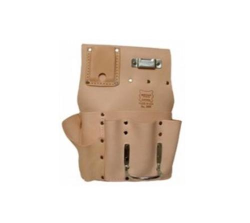 Heritage Leather 7 Pocket Drywall Hanger's Tool Pouch - Left Handed