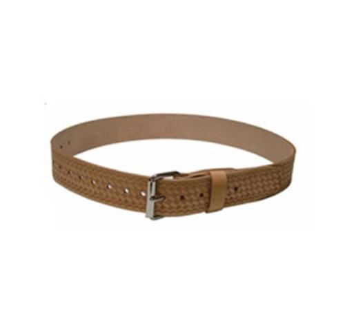 2 in Heritage Leather Wide Leather Belt w/ Roller Buckle - Large