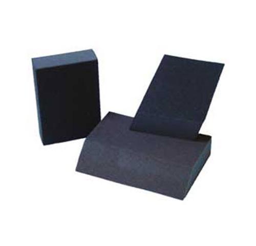5 in x 3 in x 1 in Johnson Dual-Angle Corner Sanding Sponge - Fine/Medium