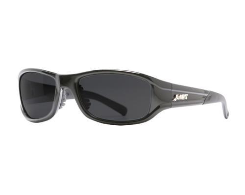 LIFT Style Series Alias Safety Glasses - Black Frame/Smoke Lens