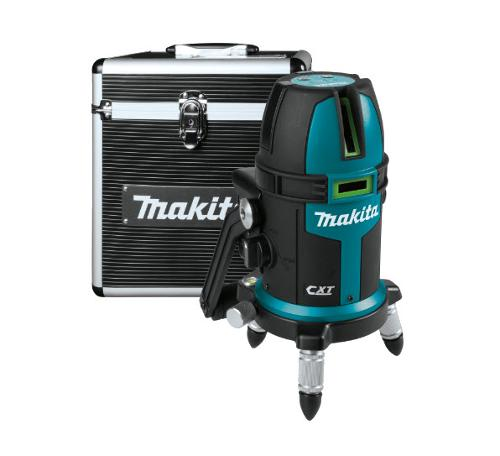 Makita 12V max CXT Lithium-Ion Cordless Self-Leveling Multi-Line/Plumb Point Green Beam Laser (Tool Only)
