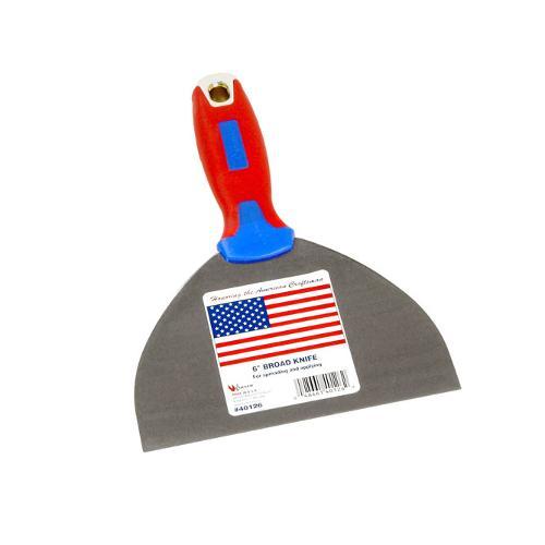 6 in Warner American Pride Flex Broad Knife w/ Hammer Cap