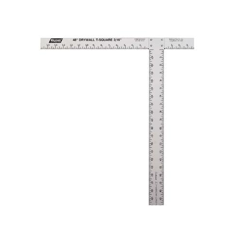 53 7/8 in Wal-Board The Original Calibrated Drywall T-Square