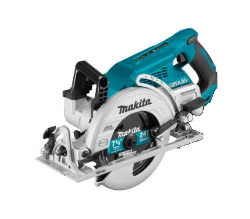 7 1/4 in Makita 18V X2 LXT Lithium-Ion (36V) Brushless Cordless Rear Handle Circular Saw - Tool Only