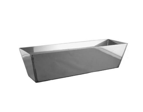 12 in Advance Heliarc Stainless Steel Mud Pan