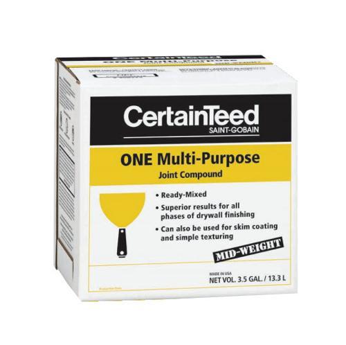 CertainTeed ProRoc ONE Multi-Purpose Joint Compound - 3.5 Gallon Boxes