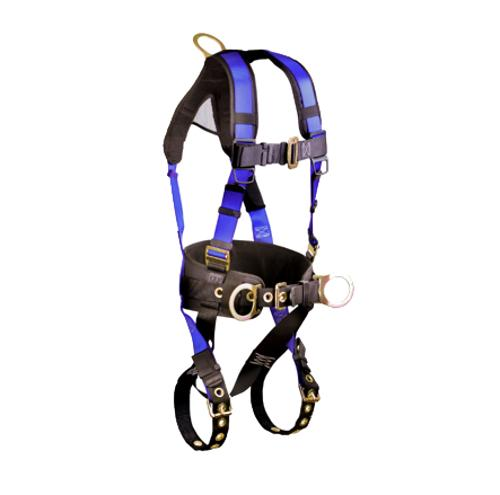 FallTech Contractor+ Harness / Construction-Belted 3 D-Ring Harness - L / XL