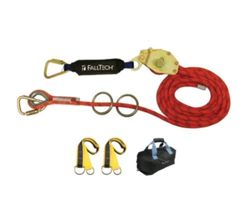 60 ft FallTech 2-Person Kernmantle Rope HLL w/ Energy Absorber
