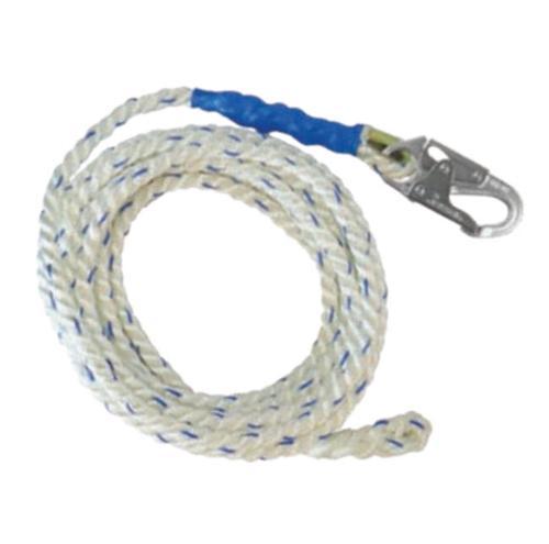 50 ft FallTech Premium Vertical Lifeline w/ 1 Snap Hook & Braid-End