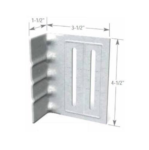 5 1/2 in x 14 Gauge ClarkDietrich FastClip Slide Clip