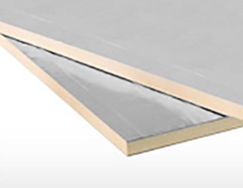 1.6 in x 4 ft x 8 ft Foil Faced Rigid Insulation