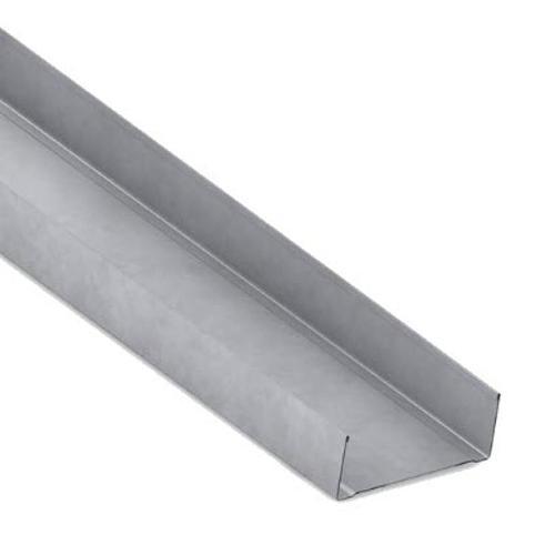 3 5/8 in x 10 ft x 20 Gauge 33 mil Steel Track w/ 1 1/4 in Leg