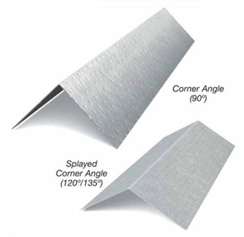 2 1/2 in x 10 ft x 14 Gauge Corner Angle