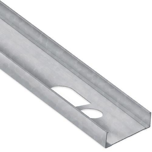 3 5/8 in x 16 ft x 20 Gauge 33 mil Structural Steel Stud w/ 1 7/16 in Flange