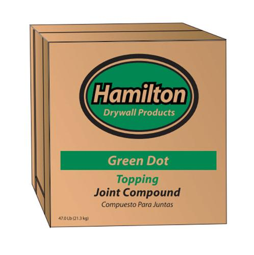 Hamilton Green Dot Topping Joint Compound - 3.5 Gallon Box