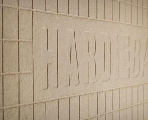 1/2 in x 4 ft x 8 ft HardieBacker Square Edge Cement Board