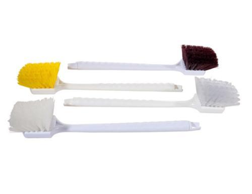 20 in Magnolia Brush Plastic Long Handle Fender Brush - Yellow