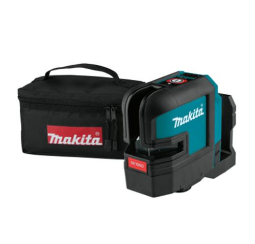Makita 12V max CXT Lithium-Ion Cordless Self-Leveling Cross-Line Red Beam Laser (Tool Only)